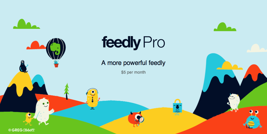 Feedly Pro teaser
