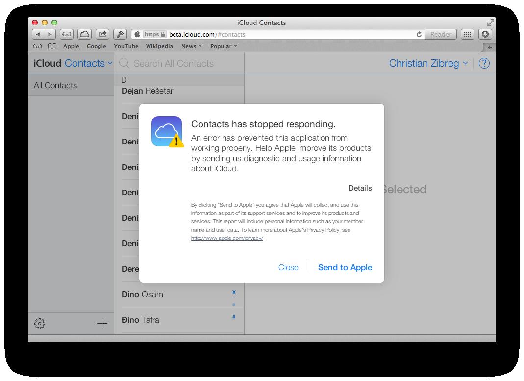 iCloud Beta (redesign 004)