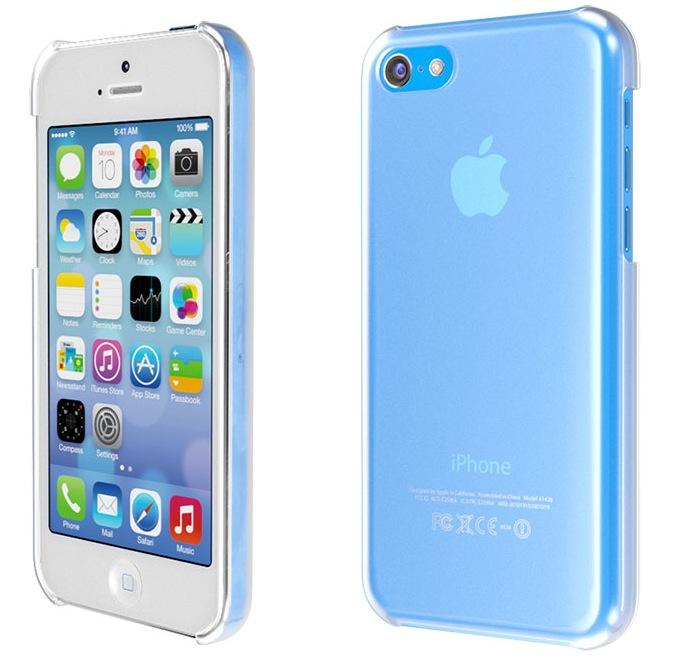 iPhone 5C (blue, protective case, Martin Hajek 001)
