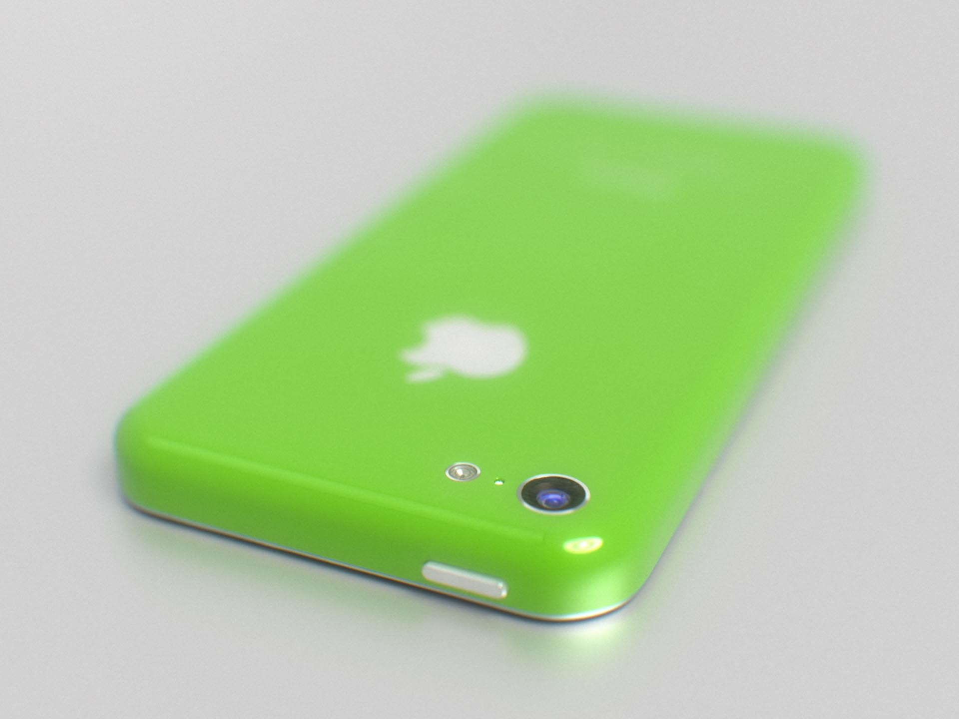iPhone 5C (green, back, top, Martin Hajek 001)
