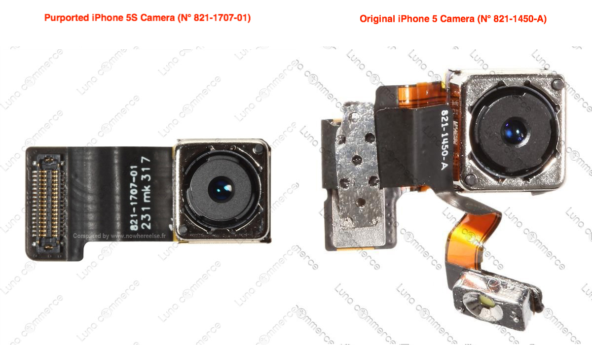 iPhone 5S (Camera module, NowhereElse 002)