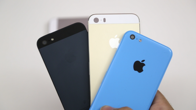 iPhone 5S vs 5C casing video