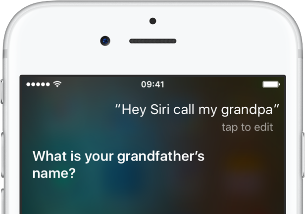 teach siri your family