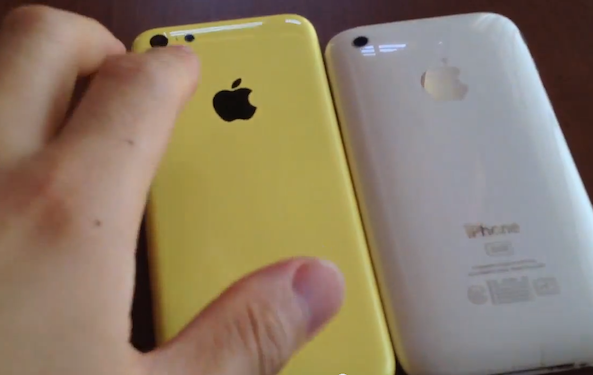 iphone 5c yellow on clip of alleged yellow iphone 5c shell 11151