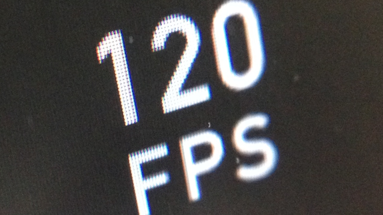 120 fps iPhone 5s
