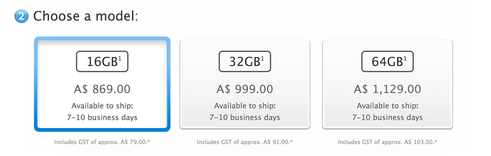 5s shipping times