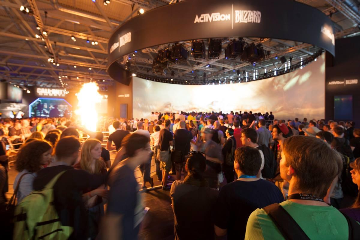 Activision Gamescon booth