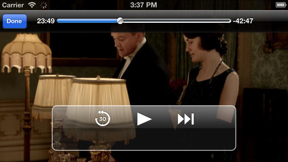 Amazon Instant Video 2.1 for iOS (iPhone screenshot 001)