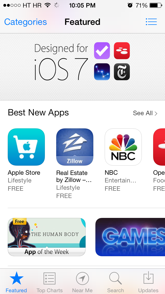App Store (Designed for iOS 7 001)
