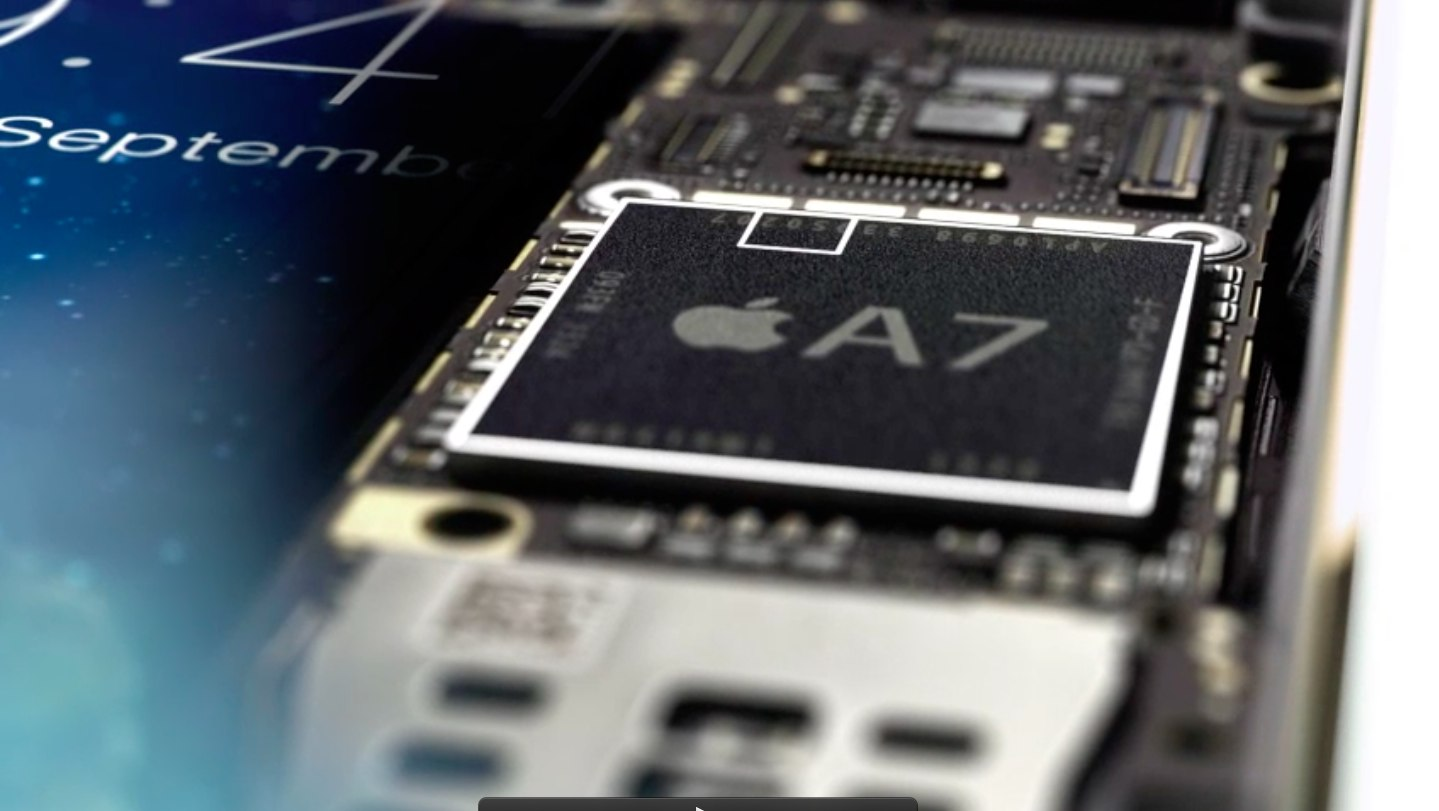 Chip Apple A7 (Secure Enclave 001)