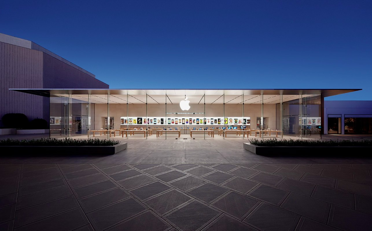 Apple Store (Stanford 2, North California, exterior 001)