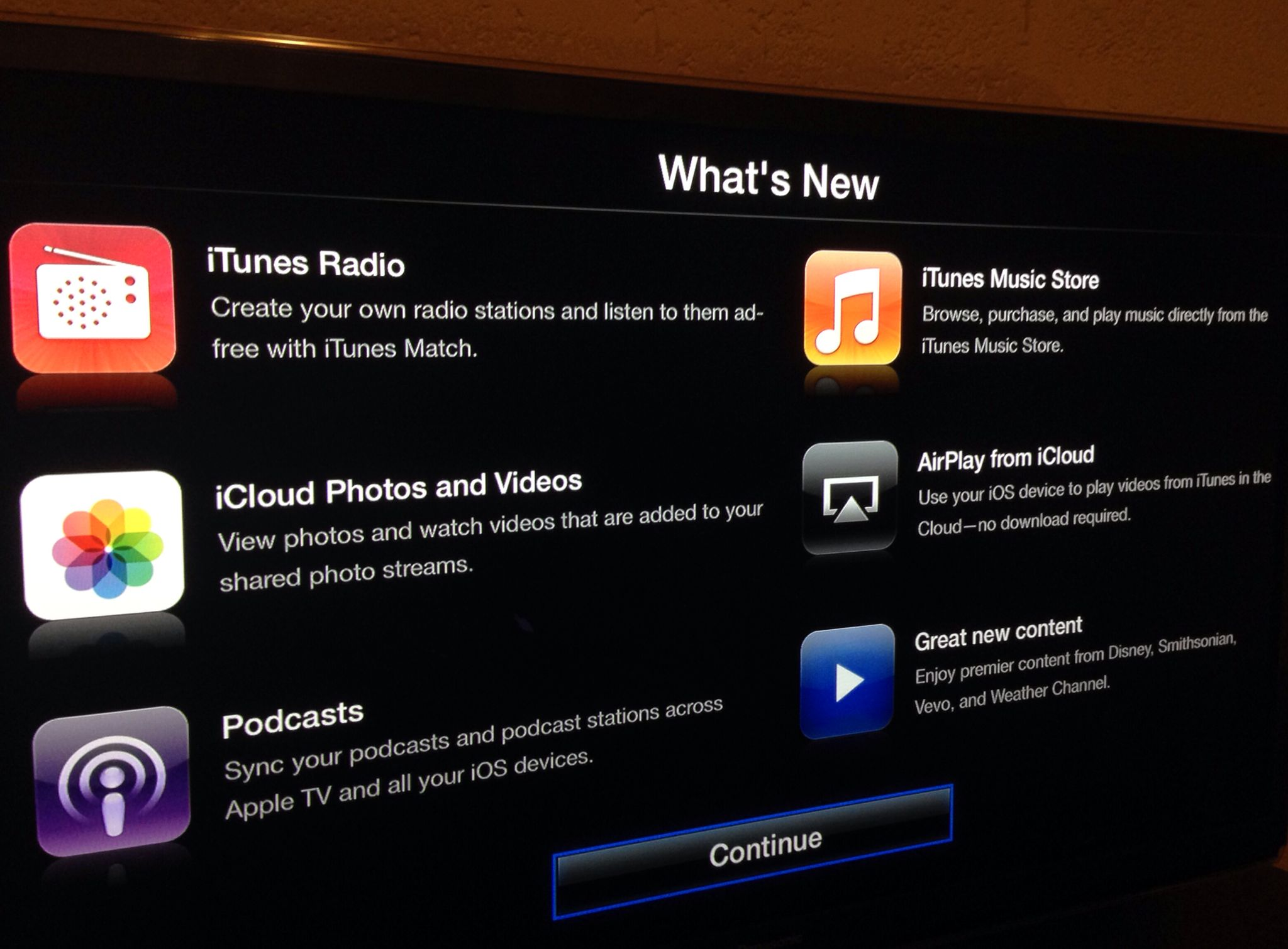Apple TV 6.0 update (teaser 001)