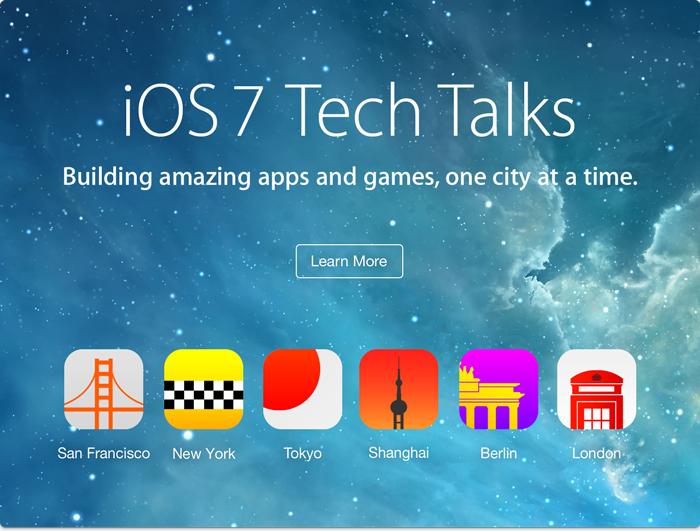 Apple iOS 7 Tech Talks (teaser 001)