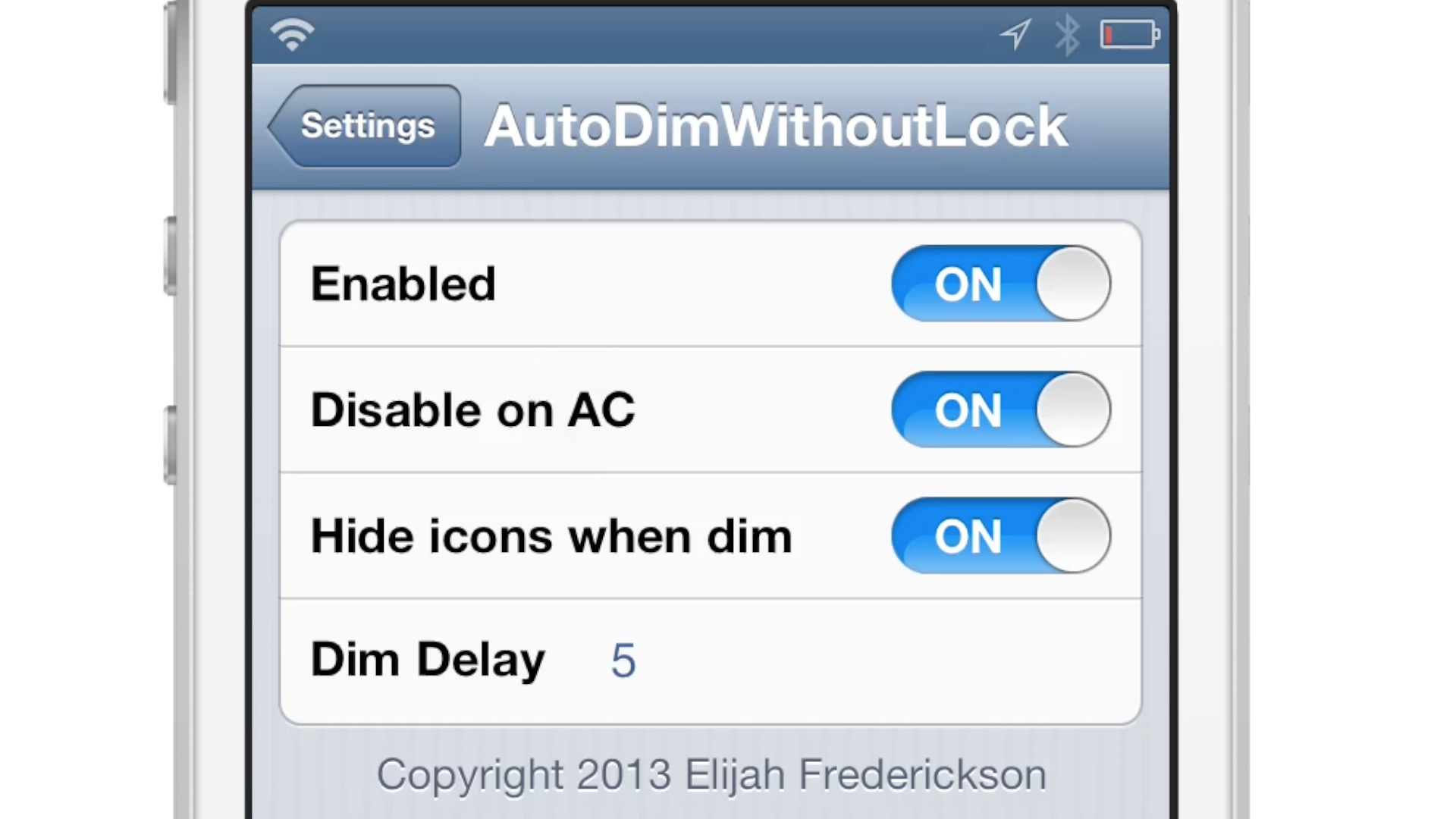 AutoDimWithoutLock
