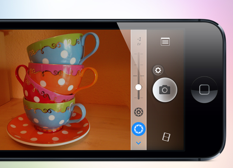 Camera Plus 4.0 for iOS (Exposire)