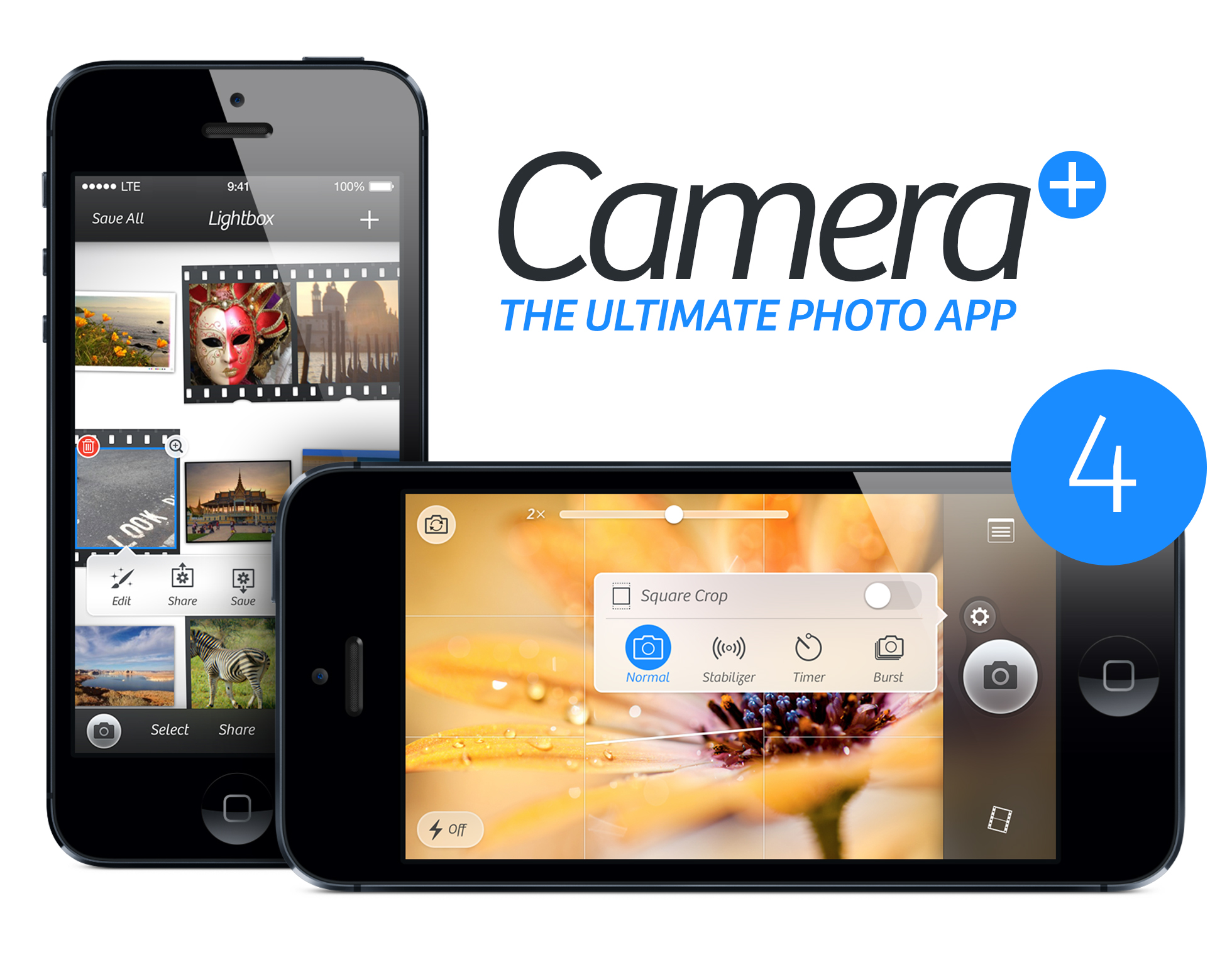 Camera Plus 4.0 for iOS (teaser 001)