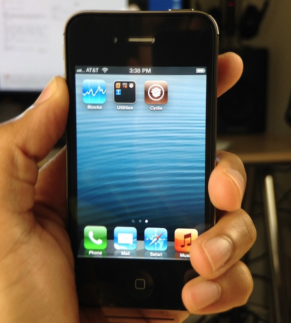 Cydia iPhone 4S Installed on iOS 6.1.3