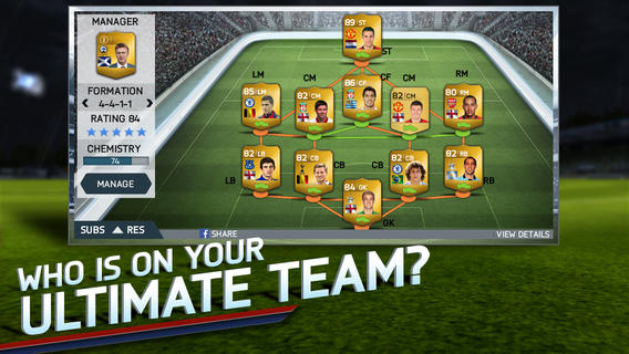 FIFA 2014 1.0 for iOS (iPhone screenshot 002)