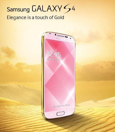 Galaxy S4 Gold Edition (image 001)