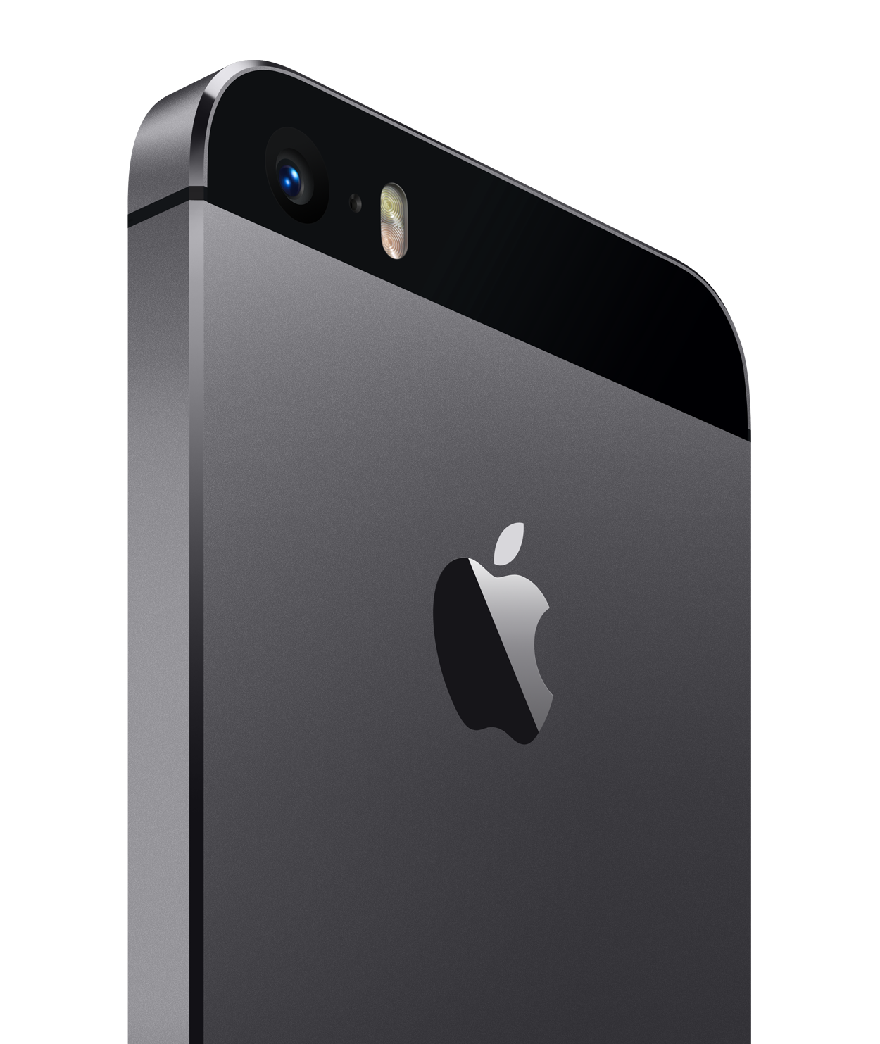 Gray iPhone 5s back