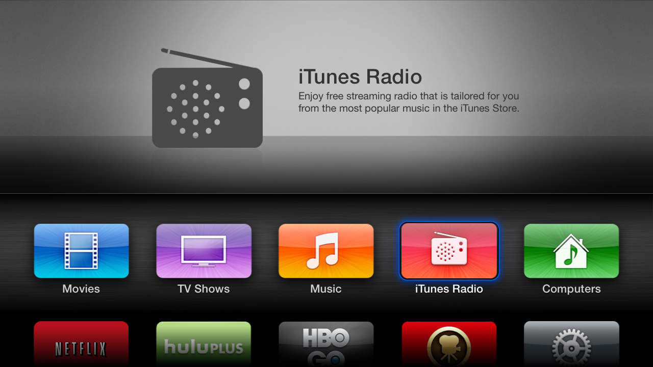 Apple TV 6 0 is out: iTunes Radio, AirPlay from iCloud