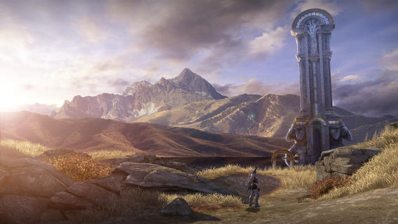 Infinity Blade III (iPhone screenshot 001)