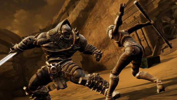 Infinity Blade III (iPhone screenshot 002)