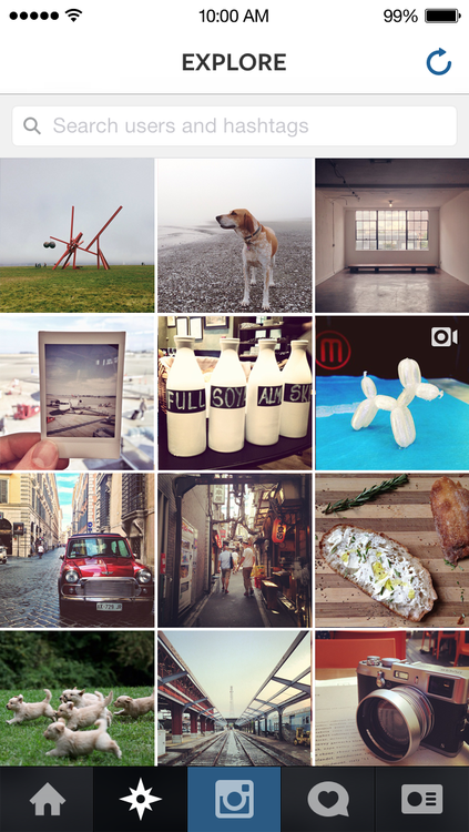 Instagram 4.2 for iOS (iPhone screenshot 002)