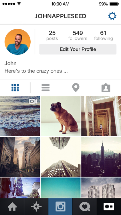Instagram 4.2 for iOS (iPhone screenshot 004)