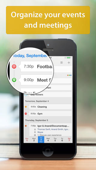 Readdle Calendar 5 for iOS (iPhone screenshot 003)