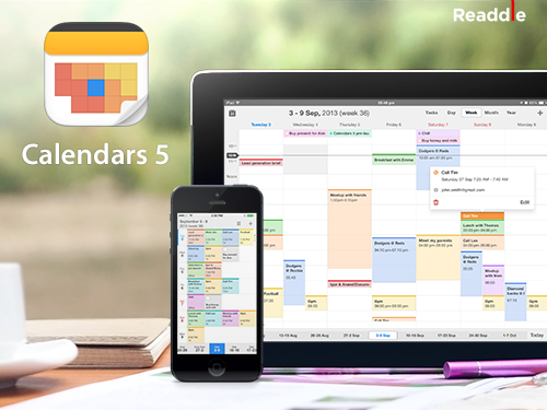 Readdle Calendar 5 for iOS (teaser 001)