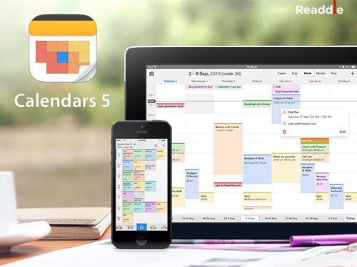 Readdle Calendar 5 for iOS (teaser 001)