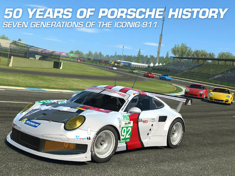 Real Racing 3 Porsche Update (iPhone screenshot 001)
