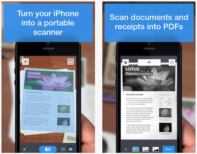 Scanner Pro Readdle
