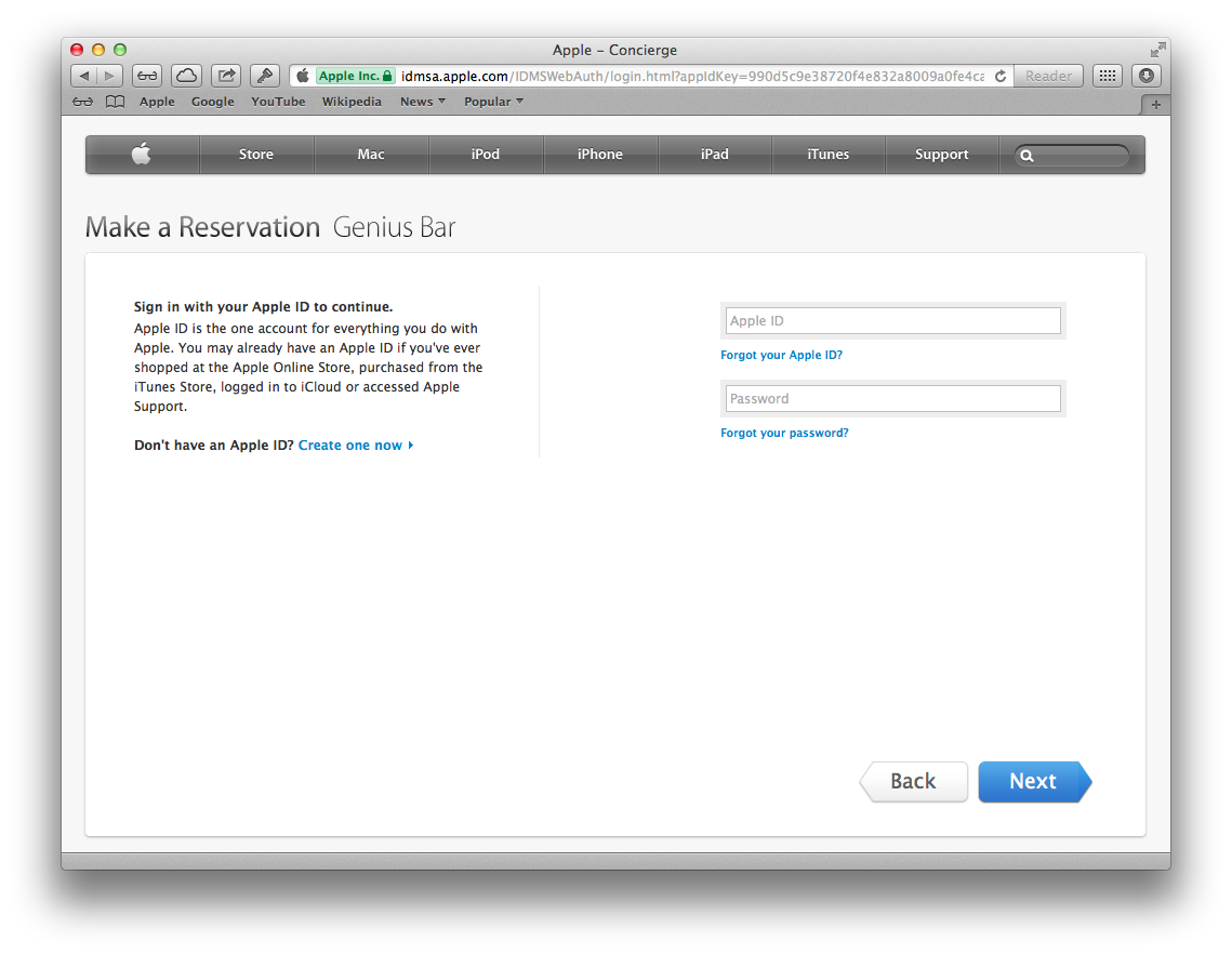 how to cancel apple genius bar appointment