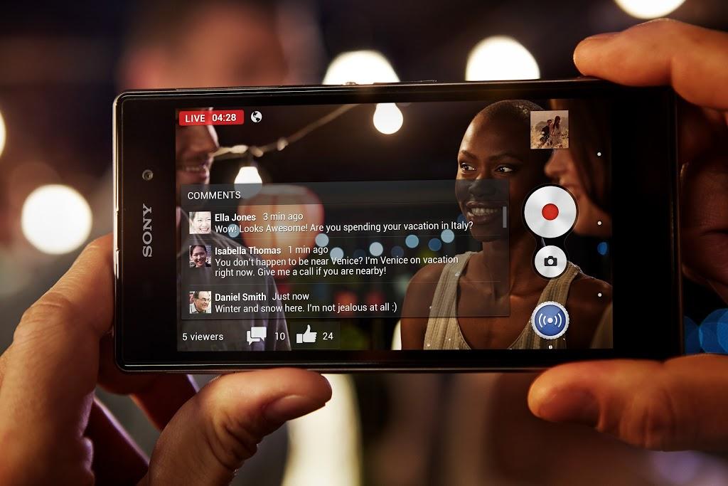 Sony Xperia Z1 (lifestyle 006)