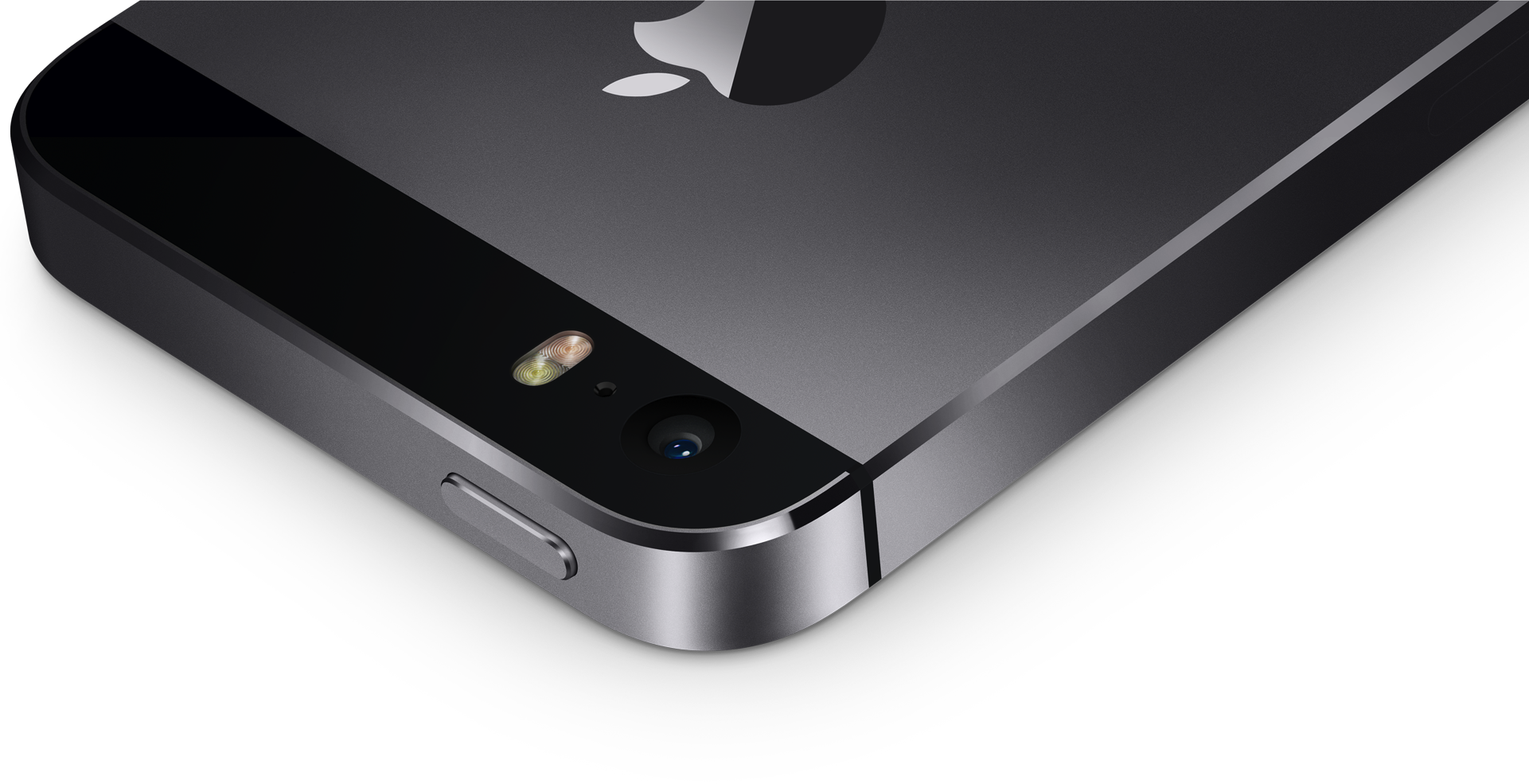 Space gray iPhone 5s camera