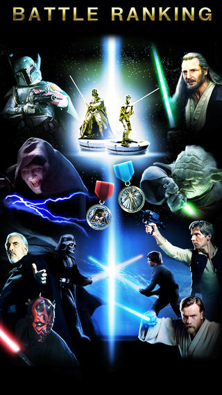 Star Wars Force Collection (iPhone screenshot 001)