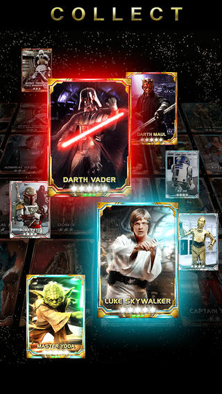 Star Wars Force Collection (iPhone screenshot 002)