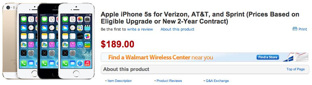 Walmart iPhone pre-orders