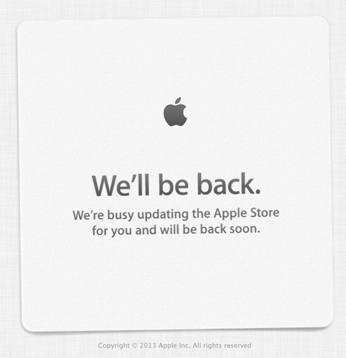 apple store be back