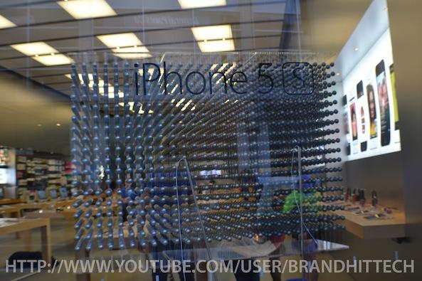 displayiphone5sapplestore