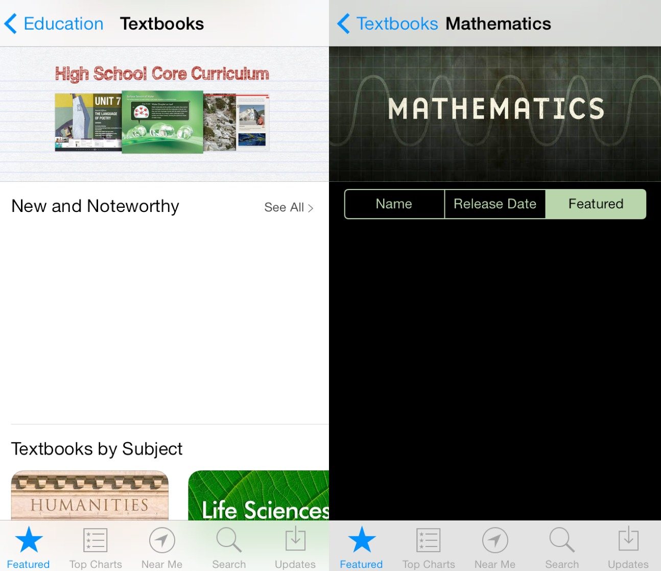 iBooks Textbooks for iPhone (screenshot 002)