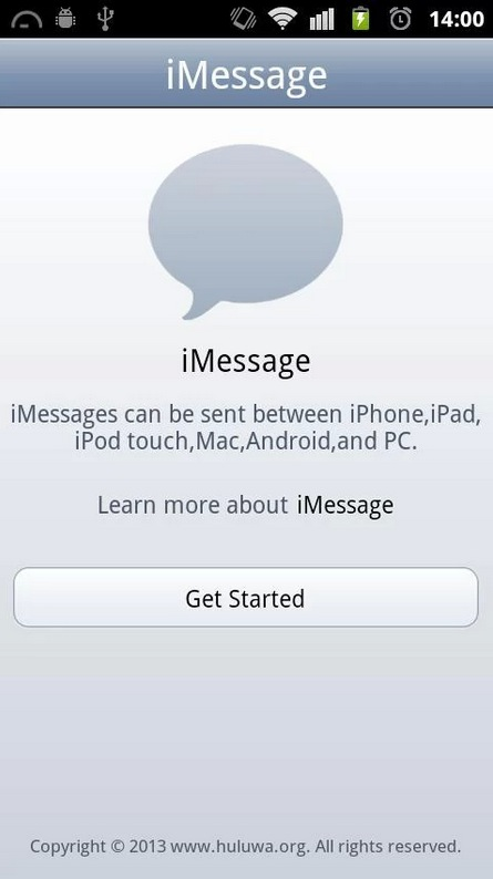 Can android text ipod