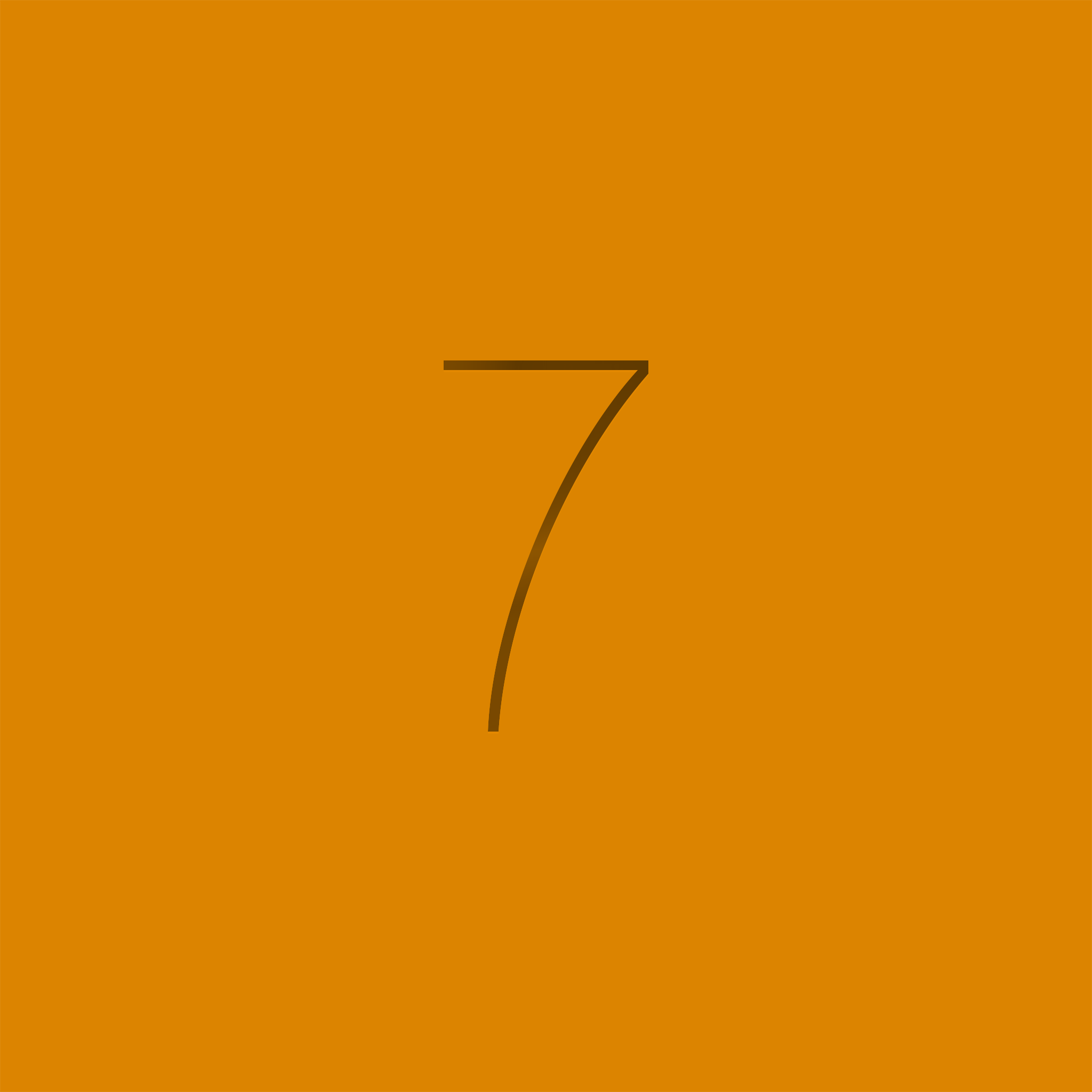 iOS 7 brown