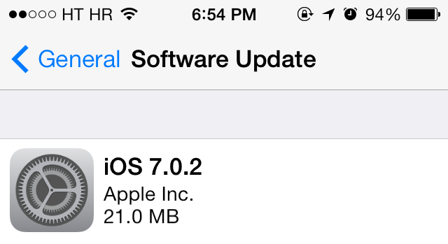 iOS 7.0.2 update prompt (teaser 001)