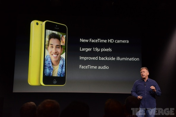 iPhone 5C FaceTime