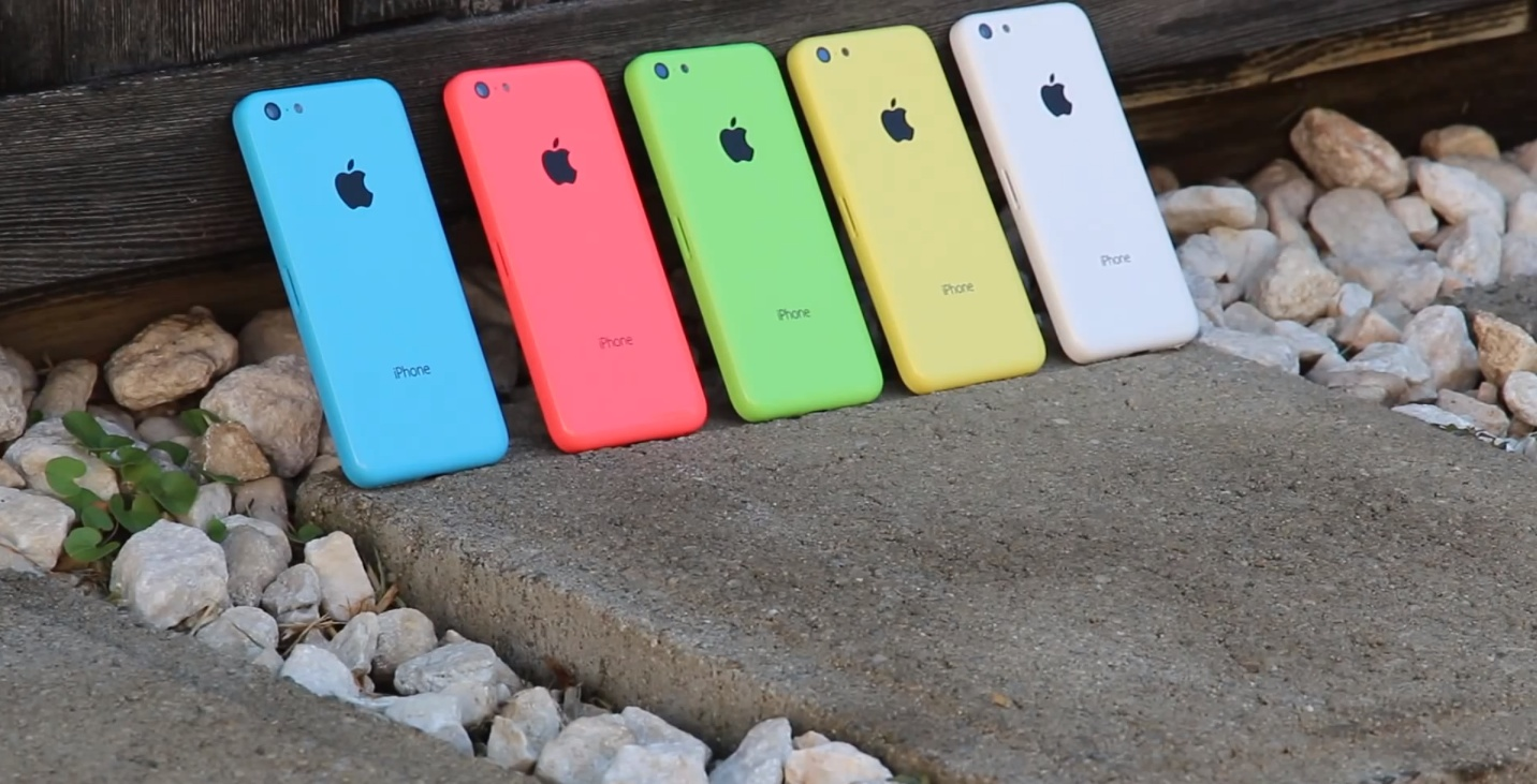 iPhone 5C (colors, backplate)