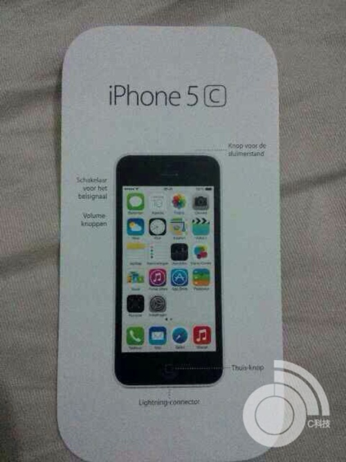 iPhone 5C (manual, SIM Only Radar 002)