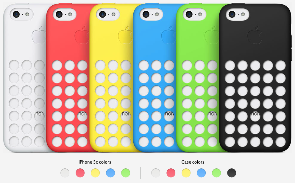 vendita calda online 07079 d10a7 Review: Apple's iPhone 5c Case is tastefully tacky